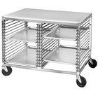 Channel 565P Mobile Work Table with Wire Pan Slides
