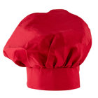 Choice 13 inch Red Chef Hat