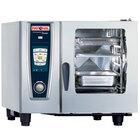 Rational SelfCookingCenter 5 Senses Model 61 A618206.27E Combi Oven with Six Half Size Sheet Pan Capacity - Natural Gas