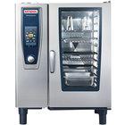 Rational SelfCookingCenter 5 Senses Model 101 A118206.27E Combi Oven with Ten Half Size Sheet Pan Capacity - Natural Gas