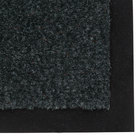 Notrax 130 Sabre 3' x 60' Forest Green Roll Carpet Entrance Floor Mat - 3/8 inch Thick