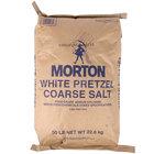 Morton 50 lb. White Pretzel M Salt