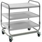 Delfield UC-3SS Three Shelf Stainless Steel Utility Cart - 35 inch x 23 inch