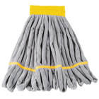 Unger ST30Y SmartColor RoughMop 11 oz. Yellow Light Duty Microfiber String Mop Head