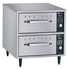 Hatco HDW-2N Freestanding Narrow Two Drawer Warmer - 900W