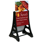 Aarco Replacement Roll A-Frame Two Sided Sidewalk Sign Stand - 24