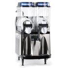 Bunn 34000.0099 Ultra-2 HP LAFI Autofill Slushy / Granita Frozen Drink Machine with 2 Hoppers - Black and Stainless Steel