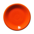 Homer Laughlin 464338 Fiesta Poppy 7 1/4 inch Salad Plate - 12/Case