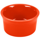 Homer Laughlin 568338 Fiesta Poppy 8 oz. Ramekin - 6/Case