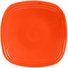 Homer Laughlin 921338 Fiesta Poppy 7 1/2 inch Salad Plate - 12/Case