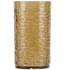 Carlisle 551718 Pebble Optic 16.7 oz. Smoke SAN Plastic Tumbler - 24/Case
