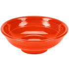 Homer Laughlin 765338 Fiesta Poppy 2 Qt. Pedestal Serving Bowl - 4/Case