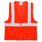Orange Class 2 High Visibility Surveyor's Safety Vest - XXL