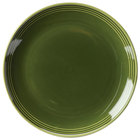 Homer Laughlin 13069391 Bosque Moss 6 1/2 inch Round Plate   - 36/Case