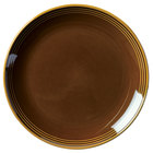 Homer Laughlin 13109392 Bosque Maple 10 1/2 inch Round Plate - 12/Case