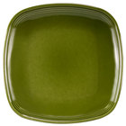 Homer Laughlin 13309391 Bosque Moss 8 3/4 inch Square Plate - 12/Case