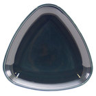 Homer Laughlin 13199712 Bosque Blueberry 8 3/4 inch Triangle Plate - 12/Case