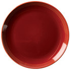 Homer Laughlin 13109390 Bosque Chestnut 10 1/2 inch Round Plate - 12/Case