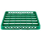 Noble Products 36-Compartment Green Full-Size Glass Rack Extender - 19 3/8 inch x 19 3/8 inch x 1 3/4 inch