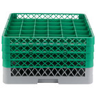 Noble Products 36 Compartment Glass Racks and Extenders
