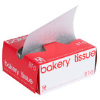 Durable Packaging BT-6 Interfolded Bakery Tissue Sheets 6 inch x 10 3/4 inch - 1000/Pack