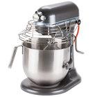 KitchenAid KSMC895DP Dark Gray 8 Qt. Bowl Lift Countertop Mixer with Guard & Standard Accessories - 120V, 1 3/10 hp