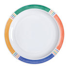 GET DP-906-BA Creative Table 6 1/2 inch Diamond Barcelona Round Plate - 48/Case