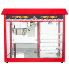 Carnival King PMW17R Royalty Series 8 oz. Commercial Popcorn Machine / Popper with Warming / Holding Merchandiser - 120V, 1700W