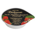 Dickinson's .5 oz. Pure Pacific Mountain Strawberry Preserves Portion Cups - 200/Case