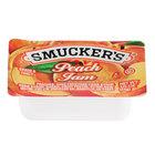 Smucker's Peach Jam - (200) .5 oz. Portion Cups / Case