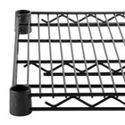 Regency 14 inch x 42 inch NSF Black Epoxy Wire Shelf
