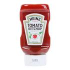 Heinz Ketchup 14 oz. Upside Down Squeeze Bottle - 16/Case