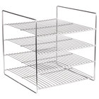 APW Wyott 217215-48 4 Shelf Flat Food Rack for HDC-4 and HDC-4P Heated Display Cabinets