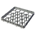 Cambro 20GE1151 20 Compartment Soft Gray Full Drop Full Size Glass Rack Extender
