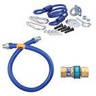 "Dormont 16125BPQR36 SnapFast® 36"" Gas Connector Kit with Restraining Cable - 1 1/4"" Diameter"