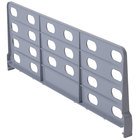 Cambro CSSD188151 Gray ABS Plastic Shelf Divider for 18 inch Camshelving® Premium and Elements Series