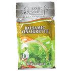 Classic Gourmet Balsamic Vinaigrette Dressing 1.5 oz. Portion Packet - 60/Case