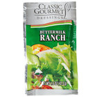 Classic Gourmet Buttermilk Ranch Dressing 1.5 oz. Portion Packet - 60/Case