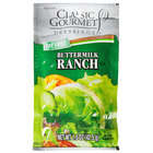 Classic Gourmet Fat Free Ranch Dressing 1.5 oz. Portion Packet - 60/Case