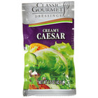 Classic Gourmet Creamy Caesar Dressing 1.5 oz. Portion Packet - 60/Case