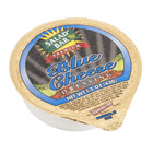 Salad Bar Blue Cheese Dressing 1.5 oz. Portion Cup - 100/Case
