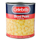 #10 Can Diced Pears in Light Syrup - 6/Case
