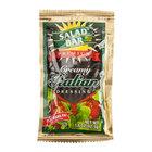 Salad Bar Creamy Italian Dressing - (60) 1.5 oz. Portion Packets / Case - 60/Case