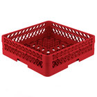 Vollrath TR1A Traex® Full-Size Red 5 1/2 inch Open Rack with 1 Extender