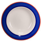 Homer Laughlin 3808072 Sovona 20 oz. Rolled Edge Pasta Bowl - 12/Case