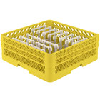 Vollrath TR3AAP14 Traex® Yellow Extended Peg Rack for 12 1/4 inch Diameter Plates