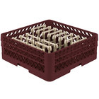 Vollrath TR3AAP14 Traex® Burgundy Extended Peg Rack for 12 1/4 inch Diameter Plates