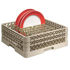 Vollrath TR3AAP16 Traex® Beige Full Size Extended Peg Rack for 18 1/16 inch Diameter Plates