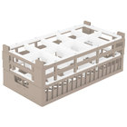 Vollrath 52818 Signature Half-Size Cocoa 10-Compartment 10 3/8 inch XX-Tall Rack