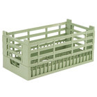 Vollrath 52803 Signature Half-Size Light Green 8 9/16 inch X-Tall Open Rack